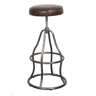 Bernardo Adjustable Height Swivel Bar Stool 17 Stories