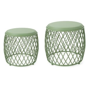 Biehl 2 Piece Nesting Tables (Set Of 2) by Ivy Bronx Cool