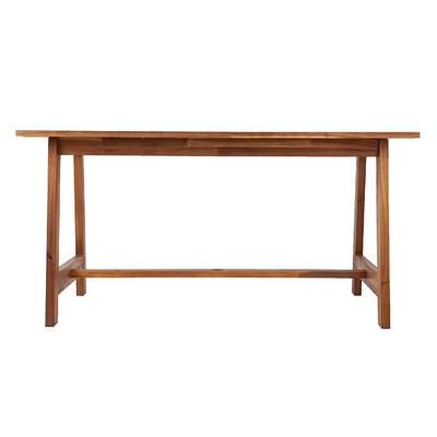 Geter Wooden Dining Table by Union Rustic Design