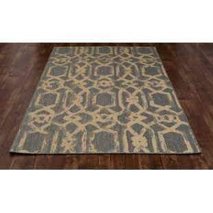Cazares Gray/Beige Indoor/Outdoor Area Rug