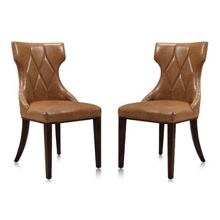 Savings Sutherland Upholstered Dining Chair (Set of 2) by House of Hampton Reviews (2019) & Buyer's Guide