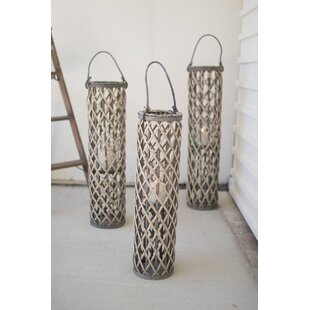 Highland Dunes Willow Lantern (Set of 3)