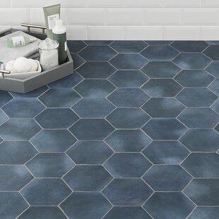 Blue Porcelain Tile Wayfair