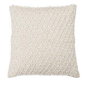 Dooling Woven Embellishment Throw Pillow