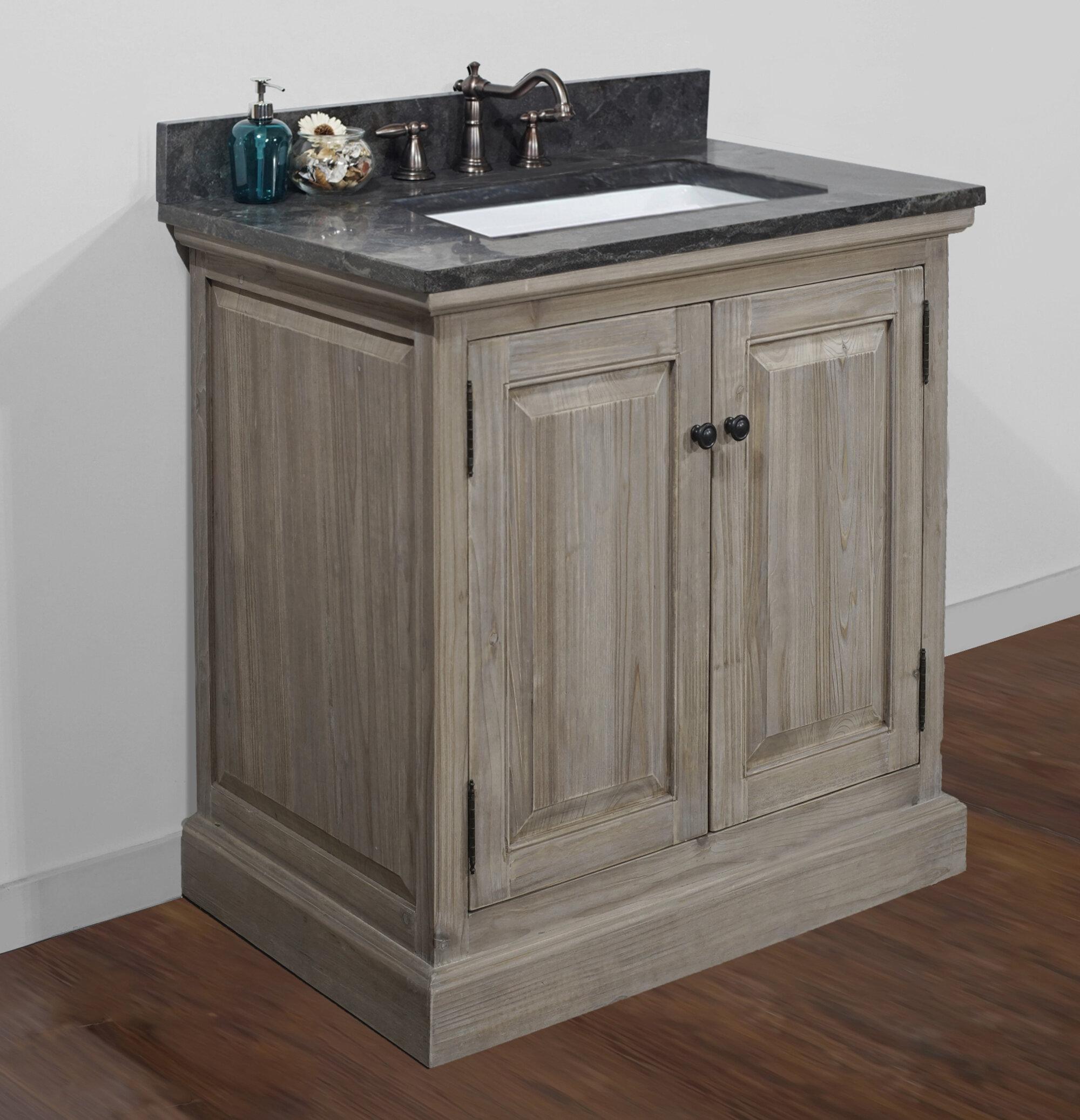 Loon Peak Arias 30 Single Bathroom Vanity Wayfair