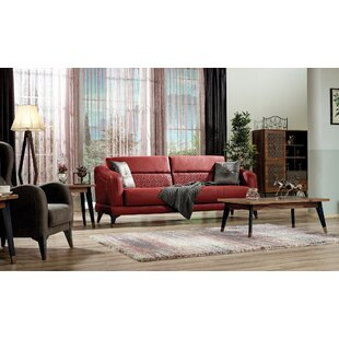 Find Farya Configurable 2-Piece Sleeper Living Room Set by Homedora Reviews (2019) & Buyer's Guide