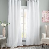 Bedroom White Curtains & Drapes You\'ll Love in 2019 | Wayfair