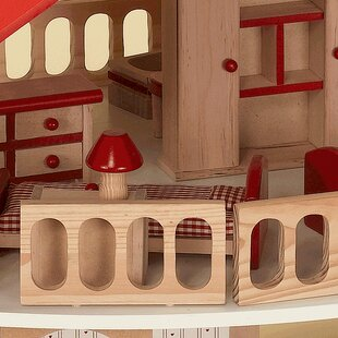 Wood Dollhouse by Gift Mark