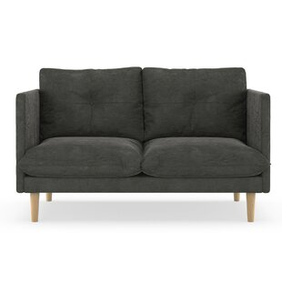 Cowles Micro Suede Loveseat by Corrigan Studio