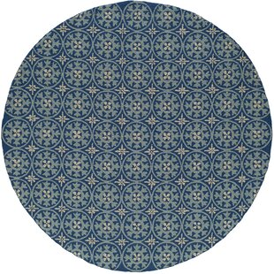 St James Blue Indoor/Outdoor Area Rug