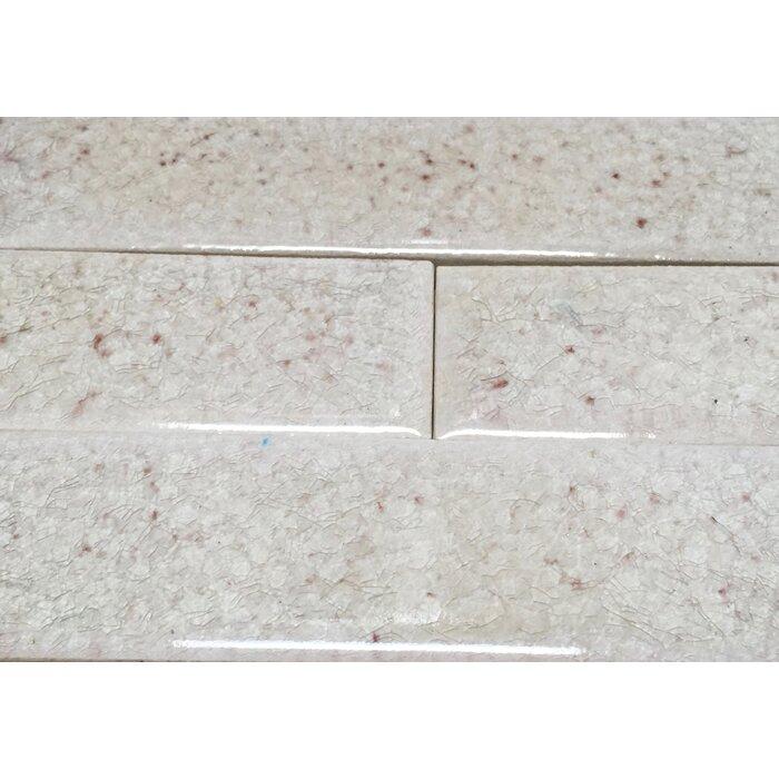 1 5 X 6 Ceramic Rare Replica Victorian Fireplace Listello Tile In Gray
