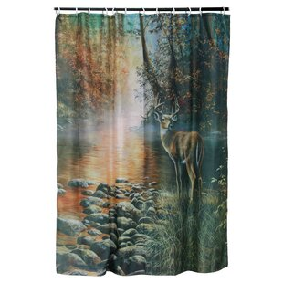 Deer Shower Curtain ByAmerican Expedition