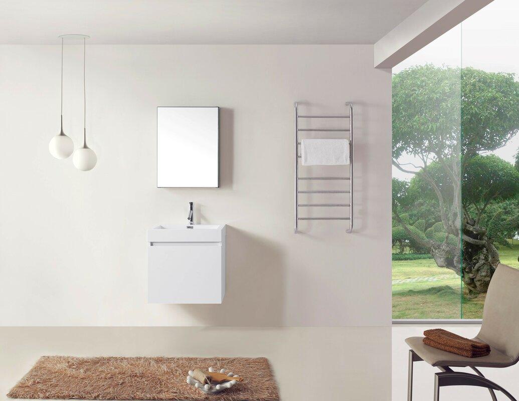 24 bathroom cabinet eviva capri vintage 24