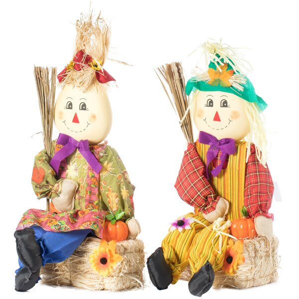 Garden Scarecrows Wayfair
