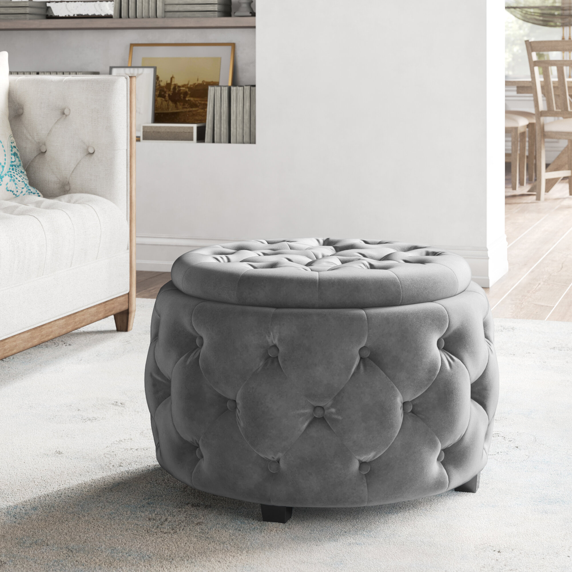 Storage Ottomans Up To 60 Off Through 02 16 Wayfair