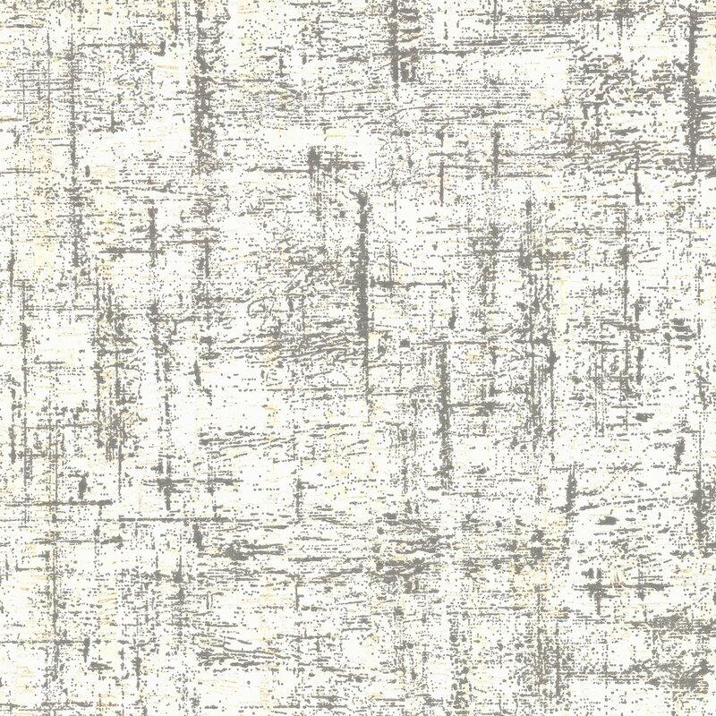 """17 Stories Liesl 27 L x 27"""" W Wallpaper Roll  Color: Blacks"""