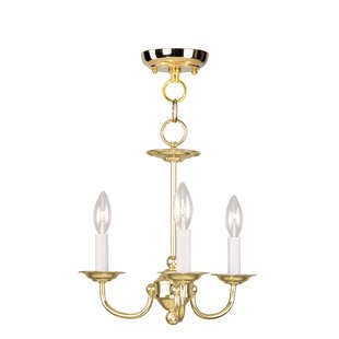 Charlton Home Colesville 3-Light Candle Style Chandelier