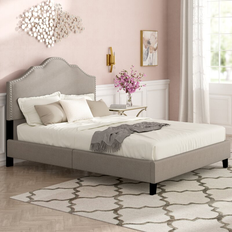 Parrish Rebecca Queen Upholstered Bed