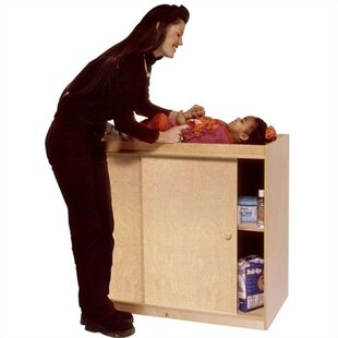 Coupon Changing Table with Plywood Doors By Angeles