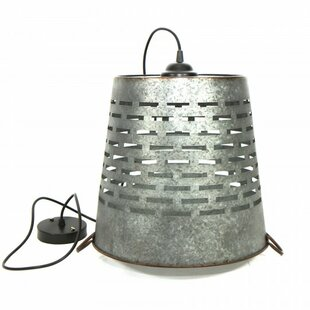 Williston Forge Shad 1-Light Drum Pendant