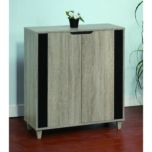 Brayden Studio Stylish Shoe Storage Cabinet