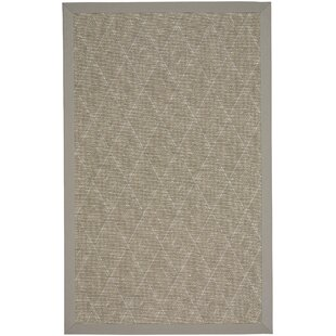 Gresham Braided Tan Buff Indoor/Outdoor Area Rug