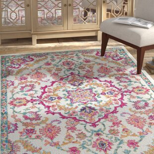 Best Choices Pike Pink/Green Area Rug ByBungalow Rose