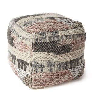 Affordable Herring Oasis Pouf By Bungalow Rose