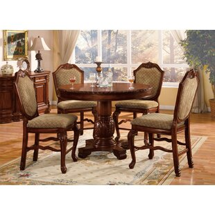 Mcclelland 5 Piece Counter Height Dining Table Set