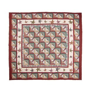Patch Magic Woodland Star and Geese Luxury Quilt