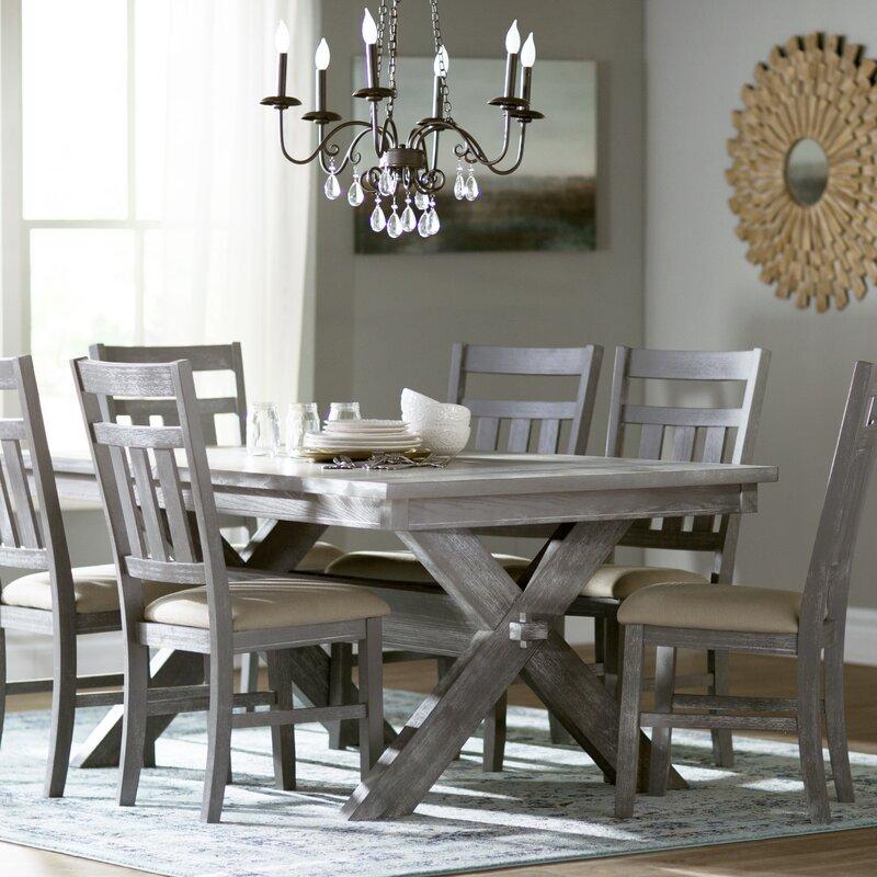 lark manor turino 7 piece dining set & reviews | wayfair
