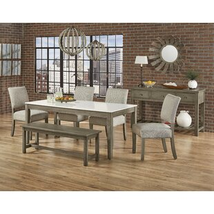 Rader 6 Piece Dining Set Gracie Oaks