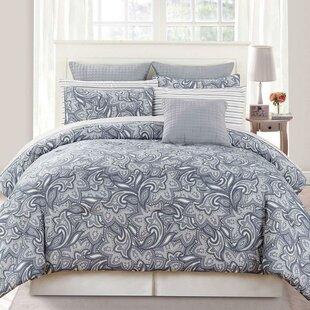 Grandone 10 Piece Reversible Comforter Set