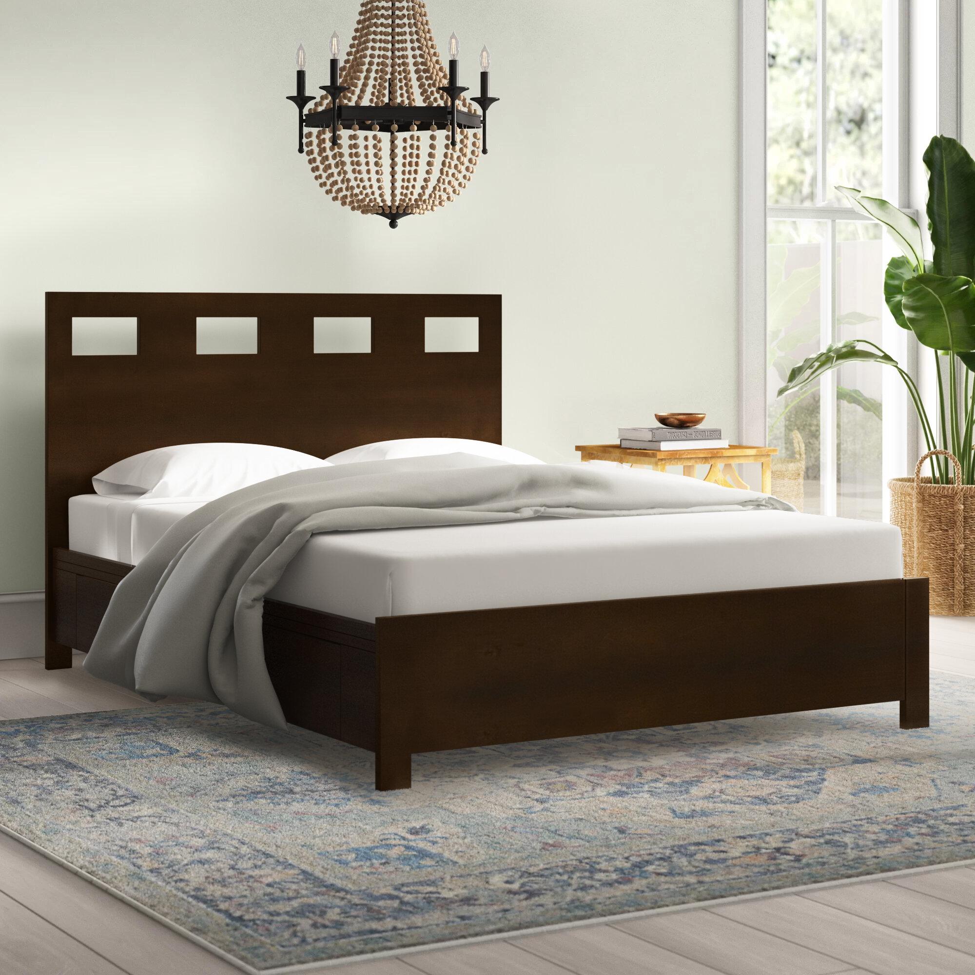 Bohemian Wood Beds You Ll Love In 2021 Wayfair