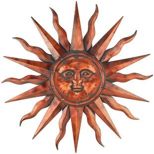 Sun Face Wall Plaque Wayfair
