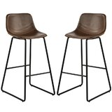 Lariat Bar Stool (Set of 2) by 17 Stories
