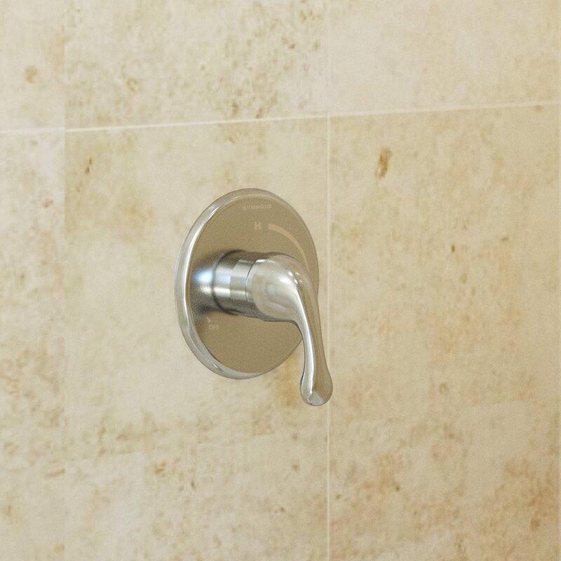 Symmons Unity Shower Faucet System Trim & Reviews | Wayfair