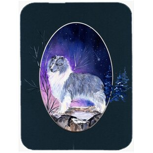 Sheltie Glass Cutting Board