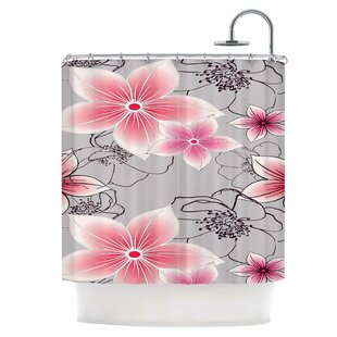 Floral Single Shower Curtain