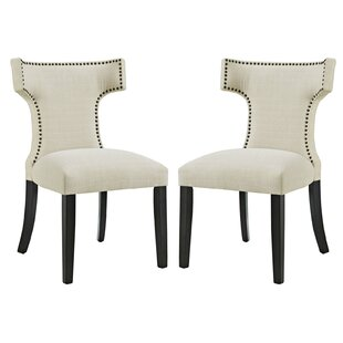 Curve Upholstered Dining Chair (Set of 2)..