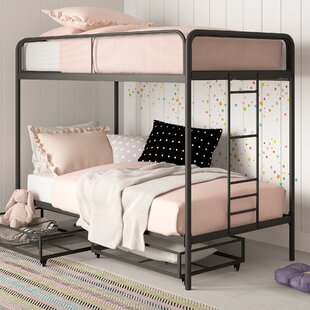 Best Reviews Tammi Twin over Twin Bunk Bed with Drawers by Harriet Bee Reviews (2019) & Buyer's Guide