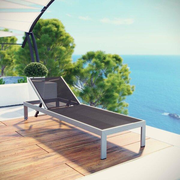 chiluer Outdoor Deck Chair Leisure Chair .Elegant Rocking Chair .Rocking Sun Loungers 2 pcs Acacia Wood