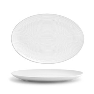 Esters Oval Coupe 9.5  Dinner Plate (Set of 2)  sc 1 st  Wayfair & Oval Dinner Plates Youu0027ll Love | Wayfair