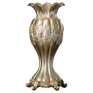 Traditional Metallic Decorative Vase