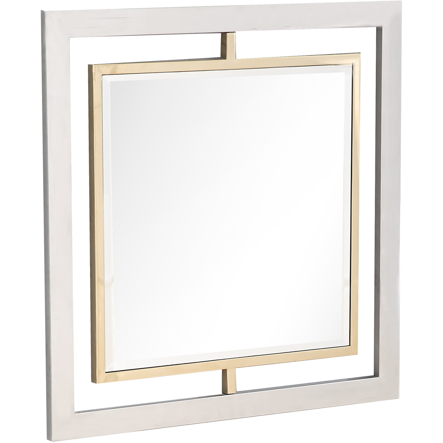 Everly Quinn Hoover Beveled Wall Mirror Wayfair