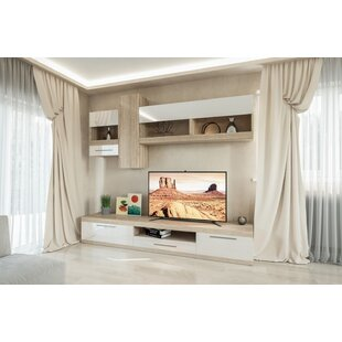 Low priced Remmington Entertainment Center for TVs up to 70 by Latitude Run Reviews (2019) & Buyer's Guide