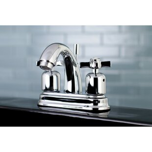 Kingston Brass Millennium Centerset Bathroom Faucet with Drain Assembly