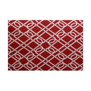 Bridgeport Red Indoor/Outdoor Area Rug