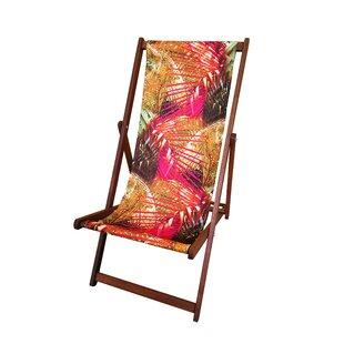 Creasy Reclining/Folding Deck Chair Image