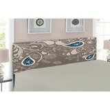 Paisley Upholstered Panel Headboard by East Urban Home